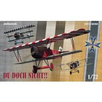 Du doch nicht!! Ernst Udets Albatros D.Vs, Fokker Dr.Is & Fokker D.VIIs