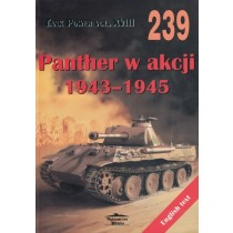 Panther in Action 1943-1945 - Militaria 239, bilingual Pol / Eng