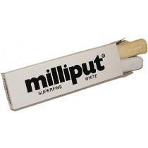 Milliput vit, 2-komponent epoxyspackel.