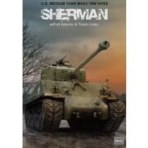 M4A3 76W HVSS Sherman w/full interior JULI