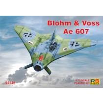 Blohm und Voss Ae607, 4 decal versions