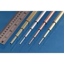 Slide fit rör mässing 0,4 - 0,6 - 0,8 - 1,0 mm, 305mm x 1