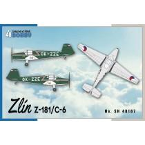 Zlin Z-181 / C-6. Czech Bu181 Bestmann