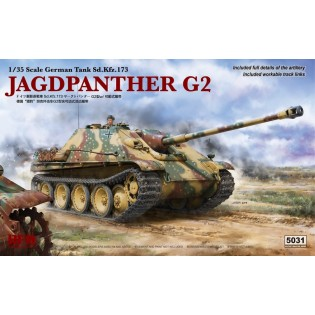 Jagdpanther G2 with workable track link