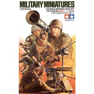 US gun and mortar team