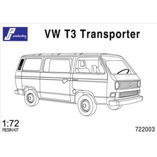 VW T3 Minibuss. Mycket vanlig i svenska försvaret