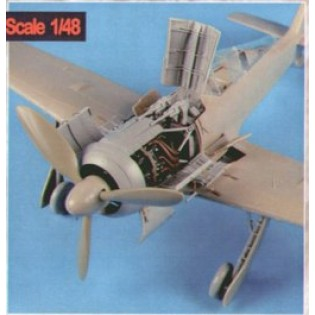 Fw190A-8 engine set EDU