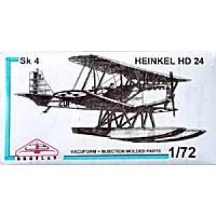 Heinkel HD 24 Sk4 on floats