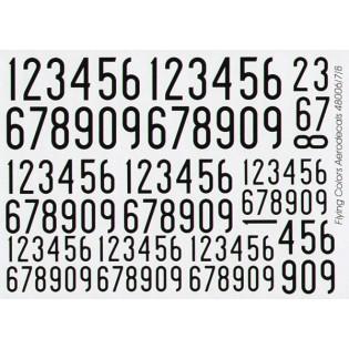 Black SwAF numbers 1936-62, narrow