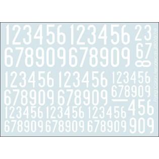 White SwAF numbers 1936-62, narrow
