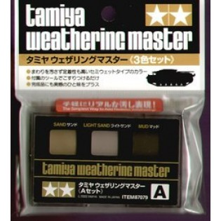 Weathering Master, A set (sand, light sand, mud)