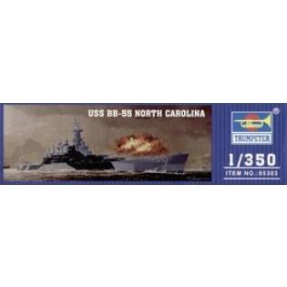 USS BB-55 North Carolina Battleship