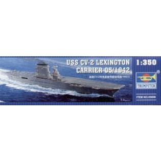 US CV-2 Lexington aircraft carrier