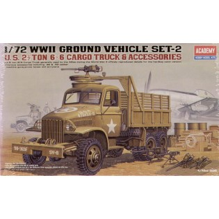US 2,5 ton 6x6 cargo truck and accessories