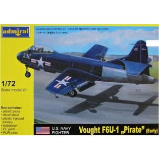 Vought F6U Pirate Early version