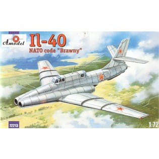 Ilyushin Il-40 Brawny modified prototype w. extended intakes