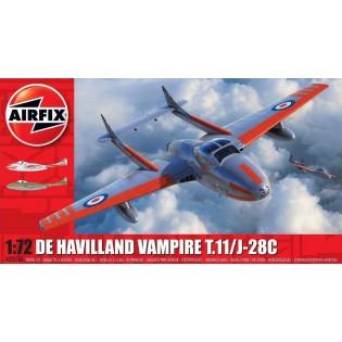 Vampire T.11 med dekaler för Sk28C