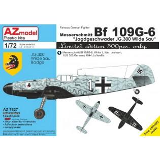 Bf109G-6 JG 300 Wilde Sau