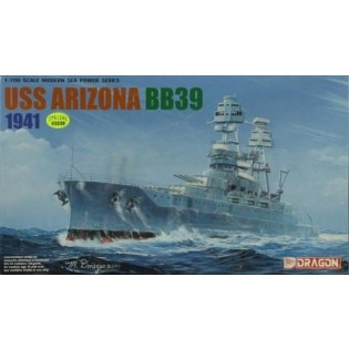 Battleship BB-39 USS Arizona 1941
