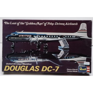 Douglas DC-7 United Air Lines 1/124 SE INFO