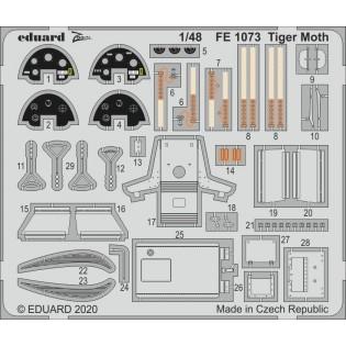 Tiger Moth detail set (Airfix)