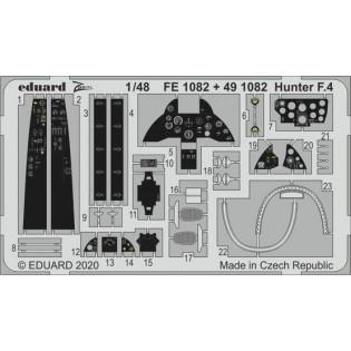 Hawker Hunter detail set (Airfix)