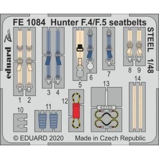 Hawker Hunter seat belts (Airfix)
