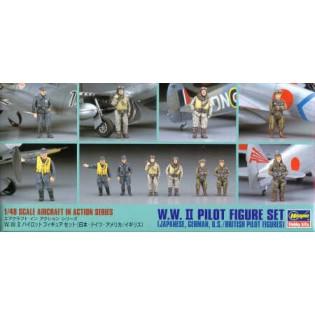WWII pilot figure set