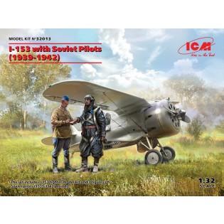 Polikarpov I-153 with Soviet Pilots (1939-1942)