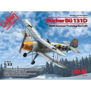 Bucker Bu131D WWII German Training Aircraft (100% new molds)