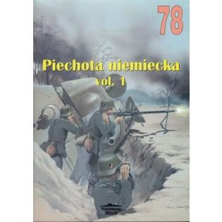 Piechota Niemiecka (Tyskt infanteri) Vol. 1 - Militaria 78, Polish text