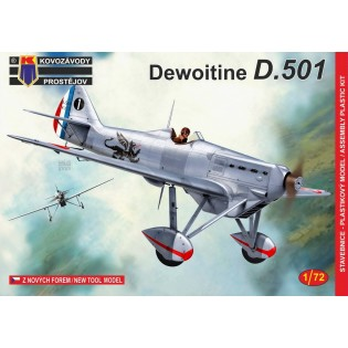 Dewoitine D.501 In French Service NEW MOULD