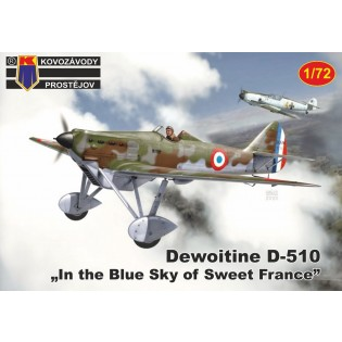 Dewoitine D.510 Over France NEW MOULD