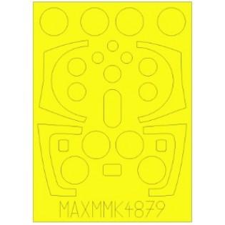 SAAB 37 Viggen canopy paint mask (TAR/SH)