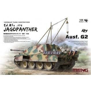 Jagdpanther Ausf G2 SdKfz 173 w. crane & engine