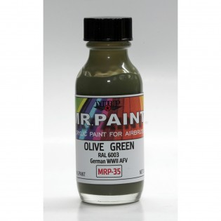 Olive green RAL 6003 (Very similar to glossy paint scheme on Sk61) 30 ml
