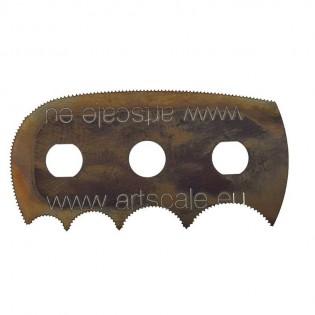 Razor saw: Octopus multi radius ultra smooth teeth (1 blade)