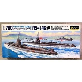 IJN submarines I-156 & I-46