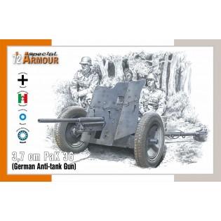 3,7 cm PaK 36 German Anti-tank Gun