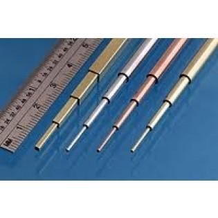 Slide fit rör mässing 1,1 -1,3 - 1,5 - 1,7 mm, 305mm