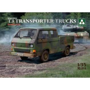 VW T3 Transporter pick-up Truck/Crew cab