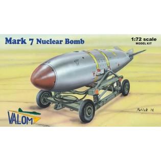 U.S. Mark 7 Nuclear Bomb, including cart