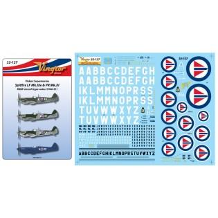 Spitfire LF Mk.IXe & PR Mk.XI - RNAF 1946-51