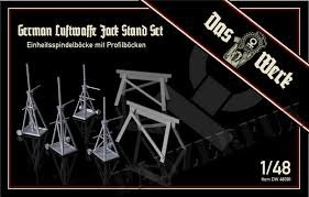 Luftwaffe Jack Stand Set with Saw Horses