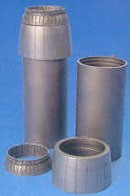F-14A exhaust nozzles - open, for HAS