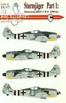 Fw190A Sturmjäger p.1 Staffel 1