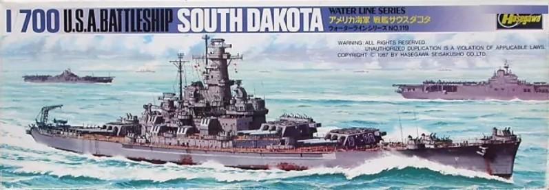 USS Battleship USS South Dakota
