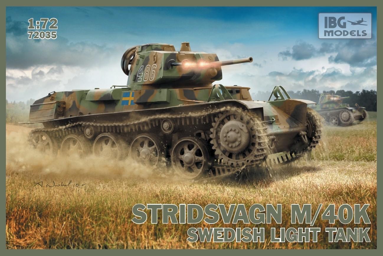Stridsvagn M/40 K Swedish light tank