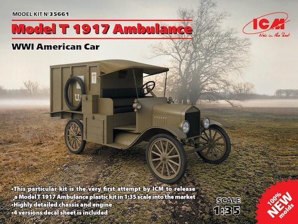 Model T 1917 Ambulance NEW MOLDS