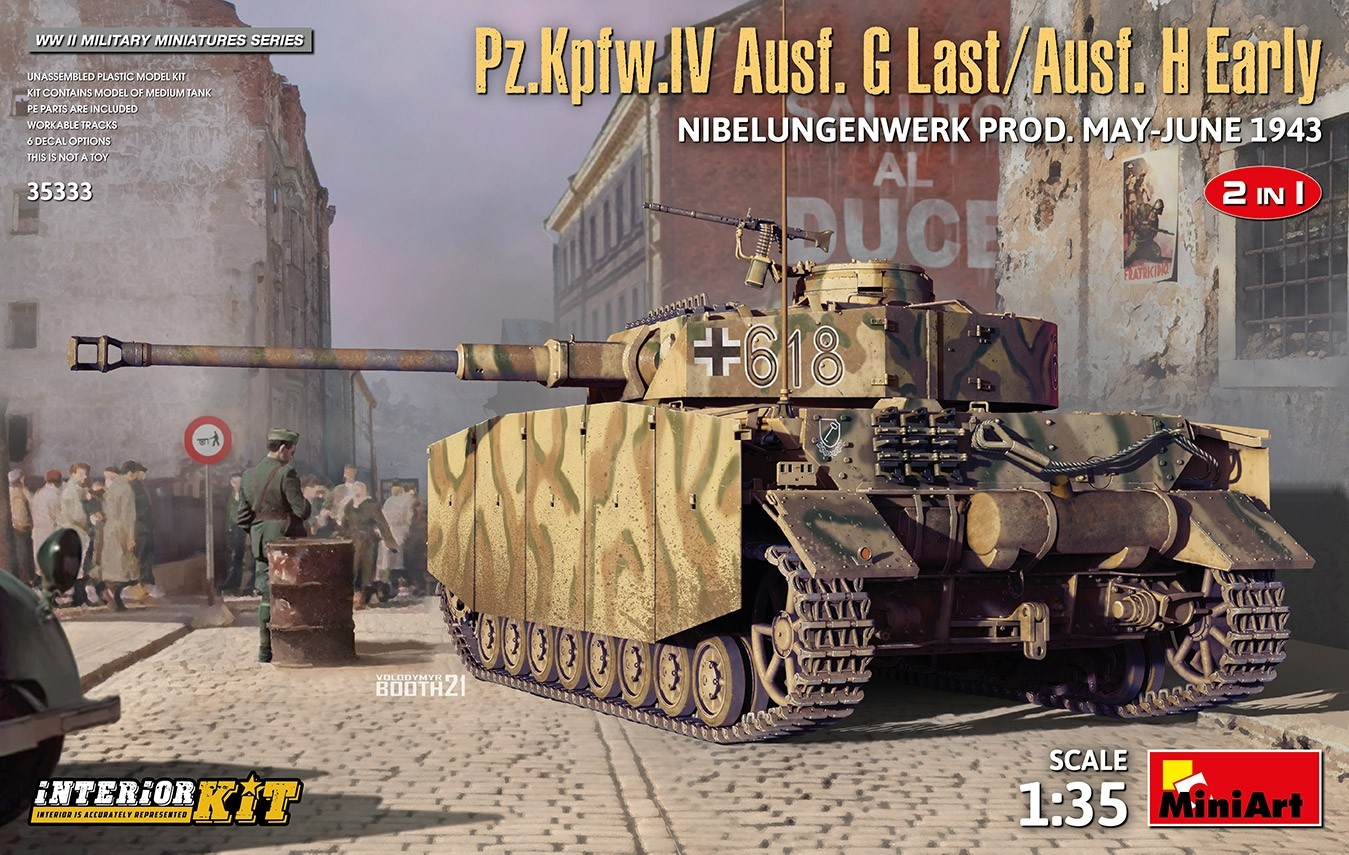 PzKpfw IV Ausf.G Last/Ausf.H Early W. INTERIOR